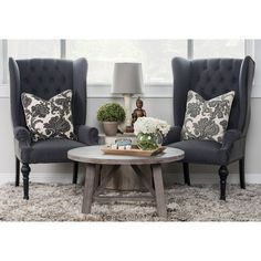 This chair modernizes the classical design allowing this traditional element to fit right at home with modern and classical interiors.The Kosas Home Eleanor Wingback Chair brings a contemporary update to the traditional wingback silhouette.
