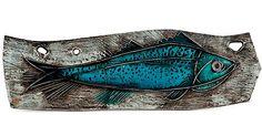 Linnaeus Ruth Bruck Wirkkala - known Finnish ceramist, a Swede by birth, was the wife of a prominent Finnish designer Tapio Virkkaly. Red Fish Blue Fish, Big Fish, Gossamer Wings, Cool Fish, Modern Ceramics, Ceramics Ideas, Little Fish, Gone Fishing, Fish Art