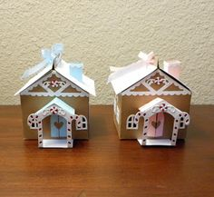 "MeriScrapper13's Cottage: Papertrey Ink Tiny Town ""Gingerbread House"""