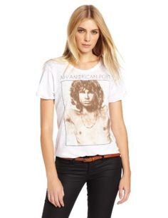 Signorelli Women's The Doors Jim Morrison, American Poet Short Sleeve Tee
