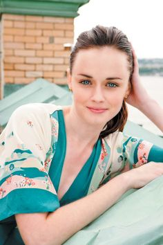 Alexis Bledel...I love her acting & she is gorgeous & we happen to share a birthday :-)