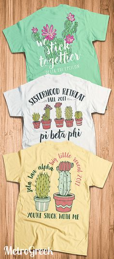 Sorority Cactus T-shirts | Delta Phi Epsilon Shirts | Deepher Shirts | Pi Beta Phi Shirts | Pi Phi Apparel | Zeta T-shirts | Zeta Tau Alpha Shirts | ZTA T-shirts | Sorority Shirts | Sorority Apparel | Greek Shirts | Greek T-shirts | Cactus Shirts | Southwest Shirts | MetroGreek | Recruitment Shirts | Bid Day Shirts | Sisterhood Shirts | Big Little Shirts |