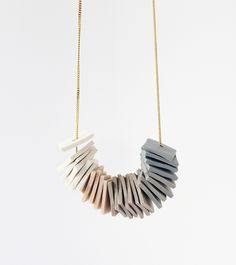 one-of-a-kind gradient necklace | AMM Jewelry
