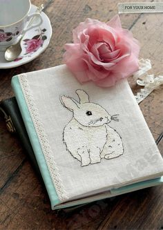 Ooo like the book cover idea, cute way to jazz-up inexpensive journals