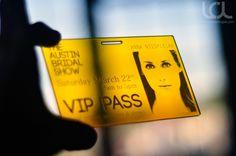 VIP Event Pass - Custom Laser Engraving