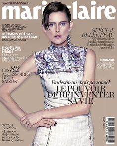 Supermodel Stella Tennant wears Prada on the cover of Marie Claire France April More Great Looks Like This Fashion Magazine Cover, Fashion Cover, Magazine Covers, Stella Tennant, High Fashion, Fashion Beauty, Marie Claire France, Beverly Johnson, Androgynous Models