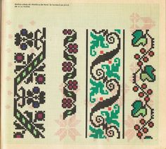 2 Colours, Diy And Crafts, Cross Stitch, Kids Rugs, Embroidery, Crochet, Pattern, Color, Palestine