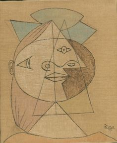 Pablo Picasso - Head of a Woman, 1937-38