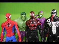 Ultimate Espetacular Homem Aranha Spider-Man X Venom Duende Verde Green ...