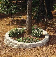 How To Build A Circular Brick Outdoor Planter