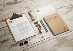 Logo // EB // Essential Butterfly Shoes by Maurizio Pagnozzi, via Behance #branding #identity
