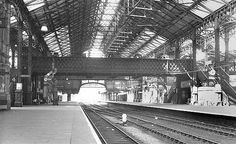 Nottingham Victoria Station in 1953 Station To Station, Train Station, Nottingham Station, Disused Stations, Steam Railway, Good Old Times, History Photos, Exeter, Model Trains