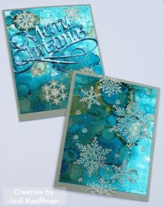 Find Judi Kauffman's project - Shimmer Sheetz & Snowflake Cards' in the new Elizabeth Craft Designs' eBook - The Crafters Chronicle: Holiday Head Start - Winter & Holiday Edition 2016. You'll also find step-by-step instructions, supplies, photos, and more! Download your FREE eBook here: http://www.elizabethcraftdesigns.com/pages/landing