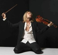 David Garrett, the violinist who is a rockstar.