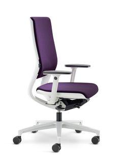Klöber Mera bureaustoel wit  Klöber Mera deskchair white