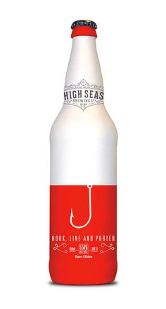 High Seas Beer Designed by Brennan Gleason