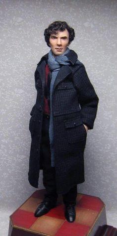 Benedict Cumberbatch- Sherlock Holmes by Sharon Cariola