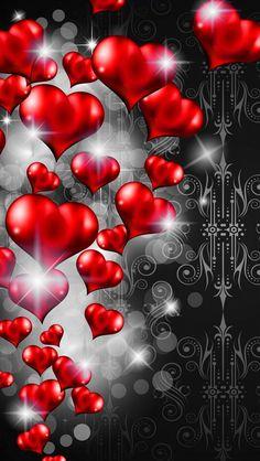 Wallpaper Backgrounds Love Heart 70 New Ideas Beautiful Nature Wallpaper, Love Wallpaper, Galaxy Wallpaper, Mobile Wallpaper, Wallpaper Backgrounds, Love Heart Images, Heart Pictures, Love Pictures, Heart Iphone Wallpaper