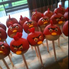 #angry birds #cakepop