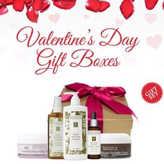 Be sure to check out our Signature Valentine's Day Gift Boxes! [Two sets to choose from! ] #eminenstore #valentinesday #gift #eminenceorganics
