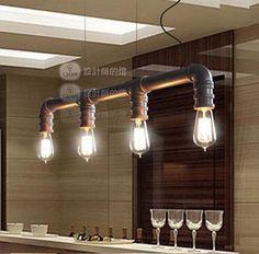 vintage industrial lighting style Edison pendant lamp restaurant vintage pendant light Contain bulb Free shipping