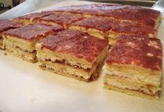 Túrókrémes-mézes szelet Tiramisu, Sandwiches, Ethnic Recipes, Food, Essen, Meals, Tiramisu Cake, Paninis, Yemek