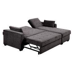 Bridgeport Fabric Sofa Chaise Convertible Bed King