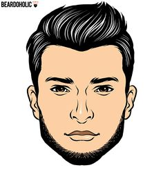 2. The Chinstrap Beard Style Without Mustache