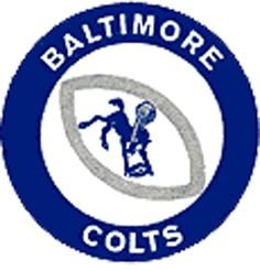the good Baltimore Colts, Indianapolis Colts, Nfl Football Teams, Bmw Logo, Green Bay Packers, Childhood Memories, Old School, Dads, Sports Logos