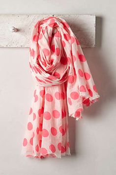 Anthropologie - Brushed Dots Scarf