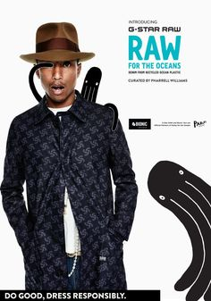 G-Star RAW x Pharrell Williams Collection – First Look Maisie Williams, Pharrell Williams, Uniqlo, Happy Singer, Fashion Brand, Fashion News, Star Fashion, Mens Fashion, X Bionic