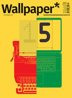 Wallpaper* 15 / cover design by Build. #editorial #graphic_design #print