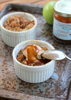 Caramel Apple Crumble | Community Post: 24 Swoon-Worthy Desserts You Should Make This Holiday Season