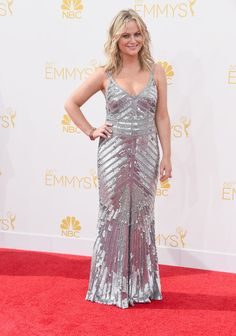 Amy Poehler | All The Red Carpet Looks From The 2014 Emmy Awards