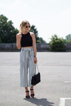 Mein absolutes Lieblingsteil ist diesen Sommer definitiv meine striped Culotte. Die französische Bundfaltenhose ist nicht nur super luftig und somit auch...