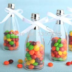 Cheap box table, Buy Quality gift box picture directly from China gift box coloring page Suppliers:      50pcs Champagne Bottle Candy Box Plastic Candy Jars and Bottles Wedding Favor Boxes Casamento Wedding Favors