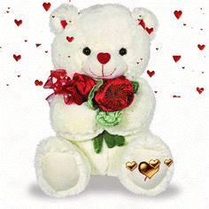 Imagen-tierna-con-movimiento-de-un-oso-con-rosas-y-corazones.gif (280×280)