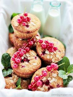 mi lascio andare - Plate of Joy: Zdrowe muffinki z owocami