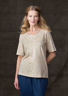 """Daisy"" eco-cotton top – Accessories – GUDRUN SJÖDÉN – Webshop, mail order and boutiques 