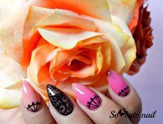 So-cute-nail: Tuto Video nail art dentelle