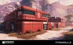 ArtStation - TITANFALL 2 EXO-PLANET, Lewis Walden