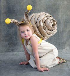 DIY+kostým+slimáka