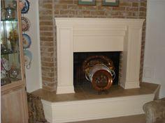 Fireplace remodel idea