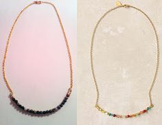 Dance to the Radio: DIY: Anthropologie Knock-Off Necklace