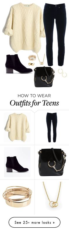 """Day Out"" by sommer-reign on Polyvore featuring New Look, Cambio, Chloé, Valentino, BaubleBar and Cartier"