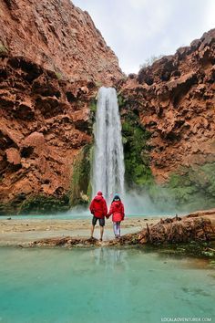 Havasupai Reservations + 11 Most Popular Hiking Trails in the US where the Hardest Part is Getting a Permit to Do it #havasupai #arizona #hiking #hikes #outdoors // Local Adventurer