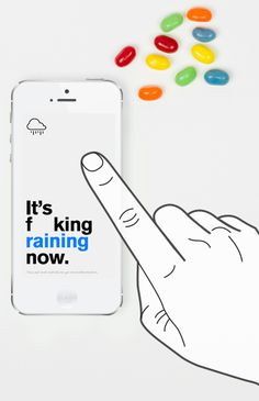 The Authentic Weather app for people with a sense of humor.
