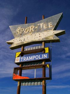 Spor-Tee, Artesia, NM. When you're there, be sure to jump on the TRAMPOLIN. Paula Hanna photographer