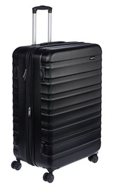 AmazonBasics Hardside Spinner, 28-Inch - The Social Travel Experience