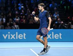 Roger #Federer at the 2015 World Tour Finals